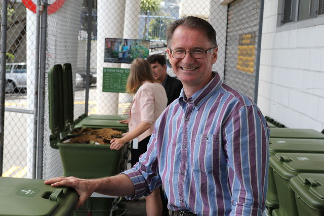 Hungry Bin Worm Farm - Sustainability champion and eco-design advisor, Eion Scott.