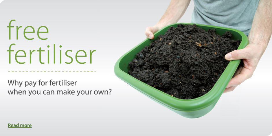 Free fertiliser - why pay for fertiliser when you can make your own?